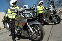 Hradišťští policisté dostali dvě nové motorky značky Yamaha.
