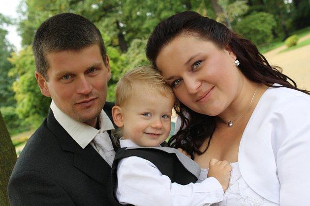 Soutěžní svatební pár číslo 207 - Kateřina a Martin Koneční, Horní Moštěnice.