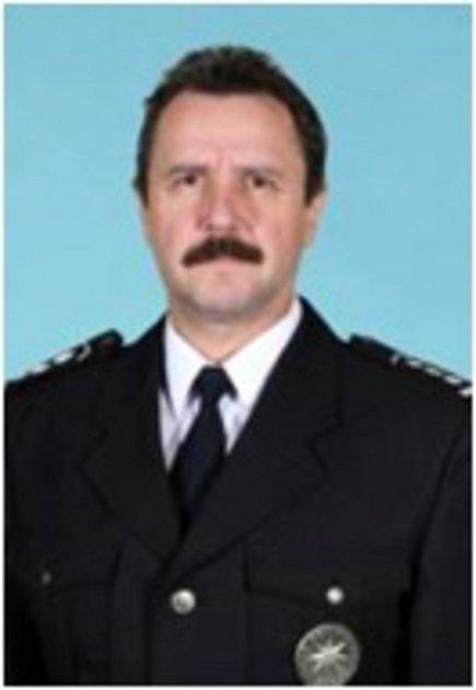 Nový šéf policie v Uherském Hradišti Václav Karkoška.