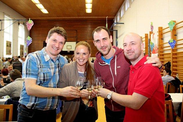 Kristýna Hoidarová Kolocová byla nadšená koštem vín vTupesích.