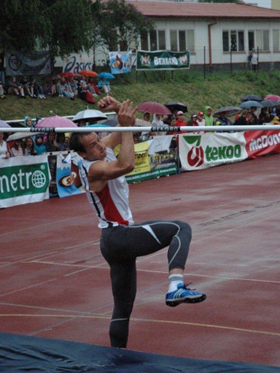 Atletické závody v Uherském Brodě.