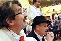 """O album se nejvíce zasloužili Fanek """"Holmes"""" Ilík (vlevo) a Lubomír Šlosar."""