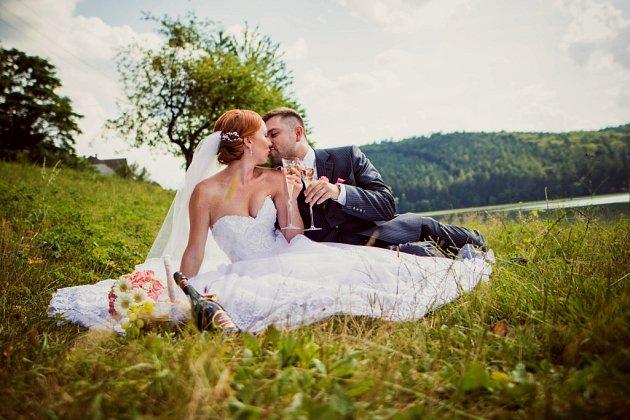 Soutěžní svatební pár číslo 145 - Iveta a Bohumil Olšákovi, Napajedla