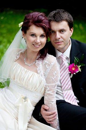 Soutěžní svatební pár číslo 52 - Vendula a Adam Köhlerovi, Židlochovice.