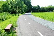 Nová cyklostezka spojila dvě sousední obce, Traplice a Sušice.