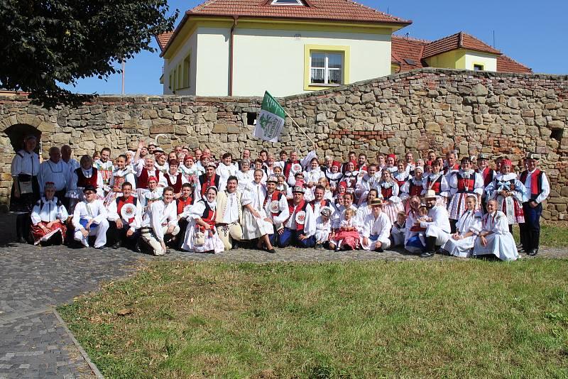 Slovácké slavnosti vína a otevřených památek v Uherském Hradišti. Mikroregion Bílé Karpaty.