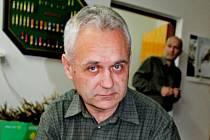 Petr Šimčík, člen České ornitologické společnosti a zaměstnanec odboru životního prostředí Městského úřadu.