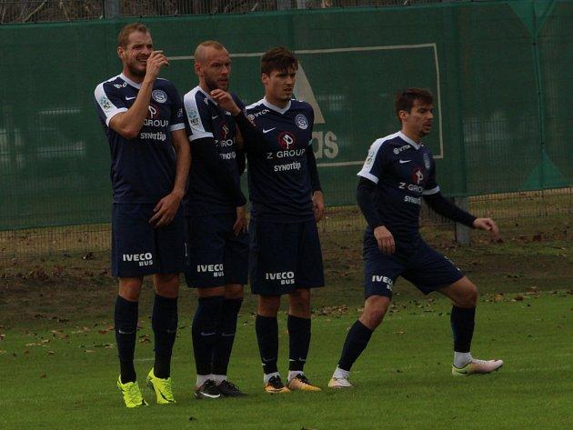 Fotbalisté Slovácka. Ilustrační foto.