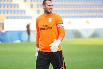 Gólman Jankovic Petr Remeš se v úvodu utkání s Polešovicemi přiznal rozhodčímu Bednářovi, že balon po přízemním centru Hasoně skončil za brankovou čarou.