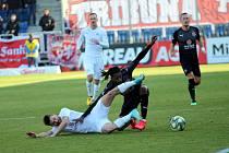 Fotbalisté Slovácka před rokem porazili Slavii Praha 2:0.