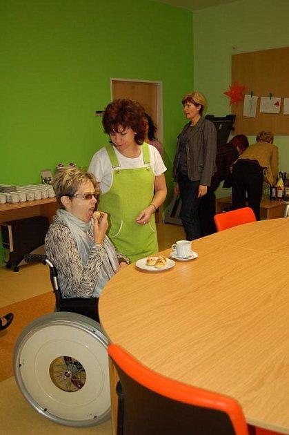 Stacionář pro handicapované občany v Uherském Brodě.