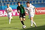 HET liga 1. kolo: 1. FC Slovácko - FK Jablonec. Na snímku vpravo Jan Navrátil.