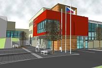 V sousedství Základní školy a Mateřské školy Buchlovice vyroste víceúčelová sportovní hala za zhruba čtyřicet milionů korun.