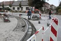 Obnova centra Babic.