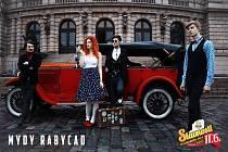 Slavnosti břeclavského piva ozdobí electro swingová senzace Mydy Rabycad.