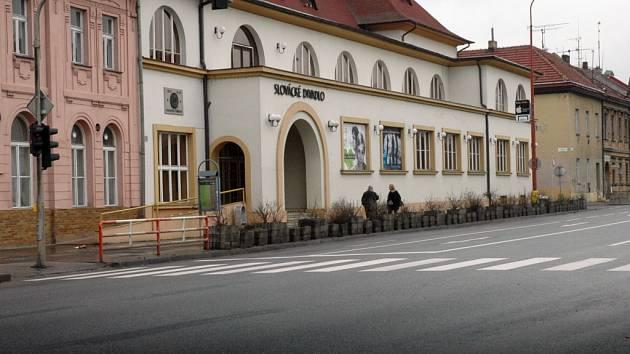 Slovácké divadlo v Uherském Hradišti.