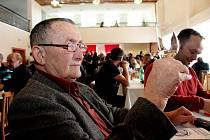20. ročník valentýnské výstavy vín vKudlovicích. Na snímku vinař a degustátor Vojtěch Luža.