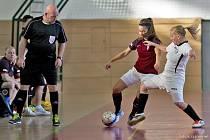 Halový fotbalový  turnaj žen. Ilustrační foto