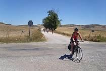 Poutníci na Camino de Santiago.