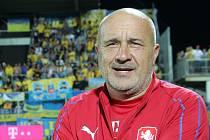 Šéf fotbalistů Uherského Brodu Josef Hamšík jako kustod českého národního týmu