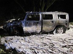 Způsobená škoda na terénním vozidle se vyšplhala na osm set tisíc korun