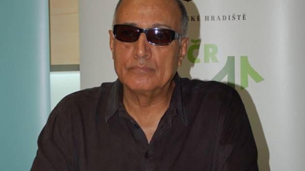 Íránský režisér Abbás Kiarostamí dorazil do Uherského Hradiště.