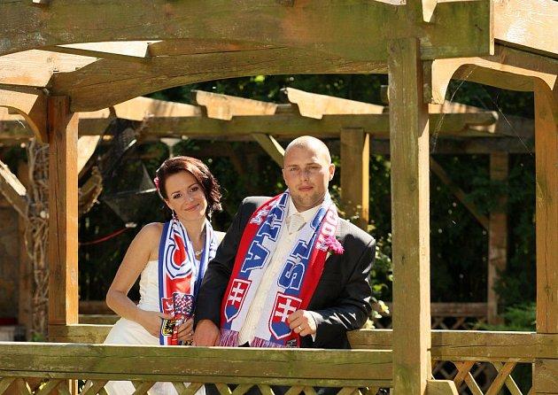 Svatební pár č. 108Hana a Martin Kovárovi, Štarnov