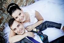 Soutěžní svatební pár číslo 54  –  Eliška a Libor Pilkovi, Uherský Brod