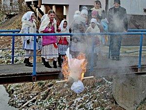 Loučení se zimou v Tupesích