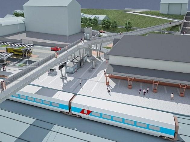 Nové dopravní centrum města skloubí moderní prvky s historickou podobou.