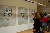 Malík Urvi II, výstava v Klubu kultury.