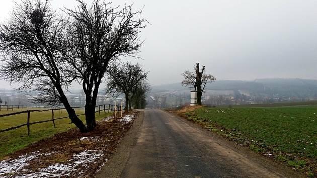 Nově vybudovaná Cyklostezka sv. Metoděje ze Zlechova do Brošic