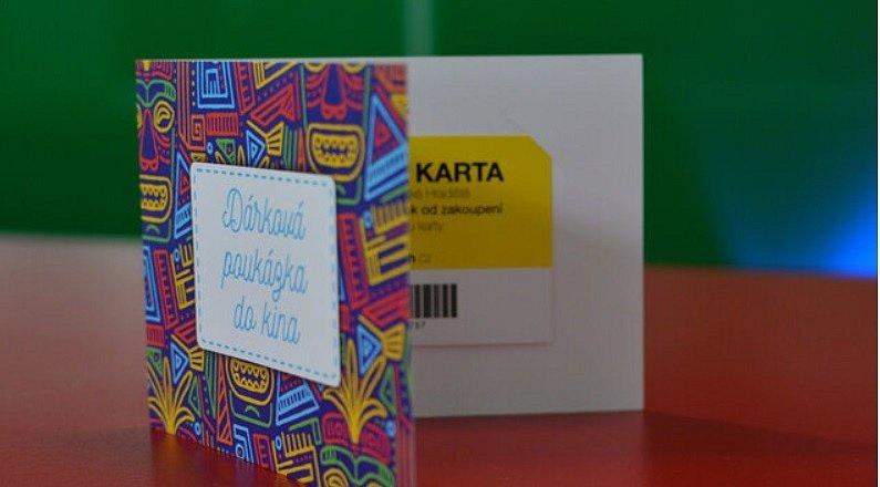 Dárkové karty kina Hvězda nově v on-line prodeji.