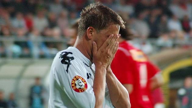 Zklamaný Petr Švancara