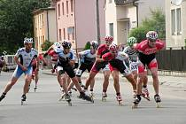 Ulicemi Veselí nad Moravou se minulou sobotu proháněly desítky in–line jezdců.