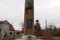 Pomník obětem 1. světové války na náměstí Svobody v Uherském Brodě.