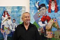 Vernisáž výstavy obrazů Zdeňka Hudečka v Galaerii Na Měšťance