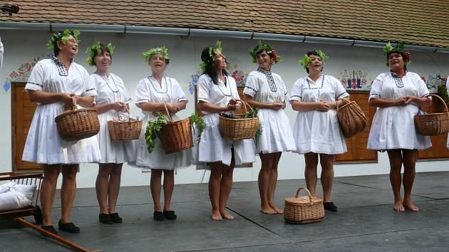 Bzenecké drmolice v sobotním programu Kopaničárských slavností zazpívají o víně.