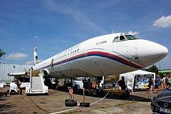 Návštěvníci si přišli v sobotu vareálu Slováckého aeroklubu a leteckého muzea Kunovice na své.
