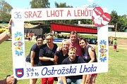 Ostrožská Lhota se stala centrem kultury v regionu.Společné snímky.
