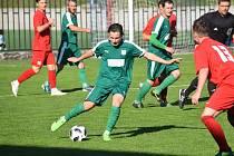 Devatenáctiletý záložník Jan Spáčil bude na jaře bude nosit dres divizního Strání.