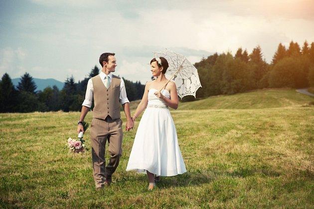 Soutěžní svatební pár číslo 159 - Hana a Julien Loeve, Brno.