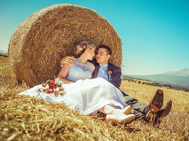 Soutěžní svatební pár číslo 170 - Elena a Jakub Calábkovi, Lipník nad Bečvou