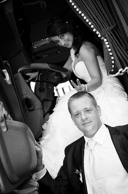 Soutěžní svatební pár číslo 264 - Michaela a Pavel Krchňákovi, Klenovice na Hané.
