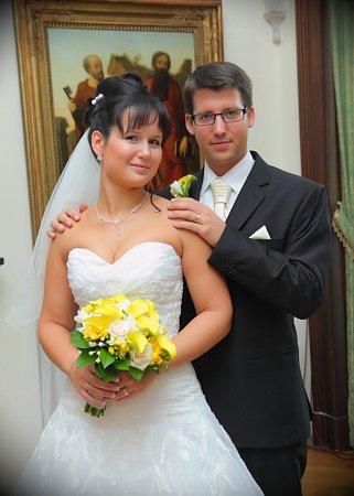 Soutěžní svatební pár číslo 37 - Kateřina a Ladislav Stonawsti, Šternberk
