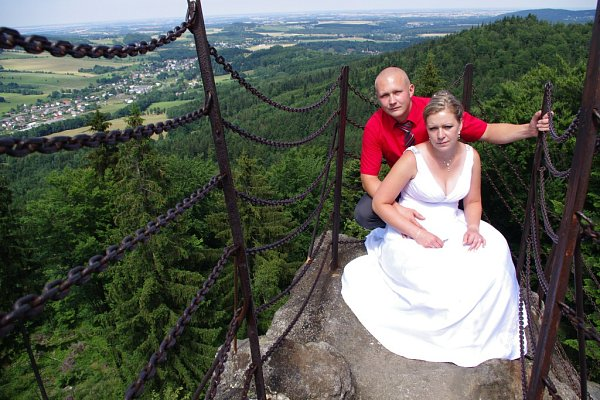 Soutěžní svatební pár číslo 45   – Kateřina a Petr Raszkovi, Široký Brod - Mikulovice