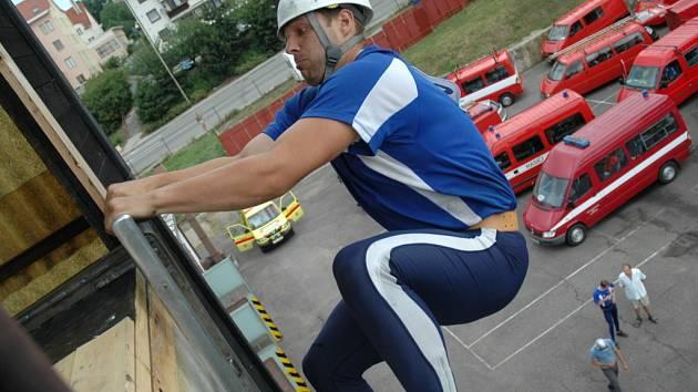 Hradišťští hasiči kralovali, svým výkonem k tomu přispěl i Přemysl Duda.