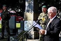 Na buchlovickém náměstí Svobody si ve středu připomenuli 69 let od osvobození obce.
