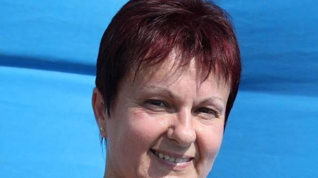 Předsedkyně dobrovolných zdravotníků v Huštěnovicích Ludmila Smýkalová.