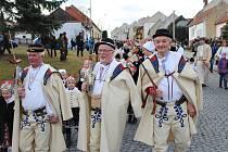 Festival masopustních tradic FAŠANK 2017 ve Strání. Ilustrační foto.